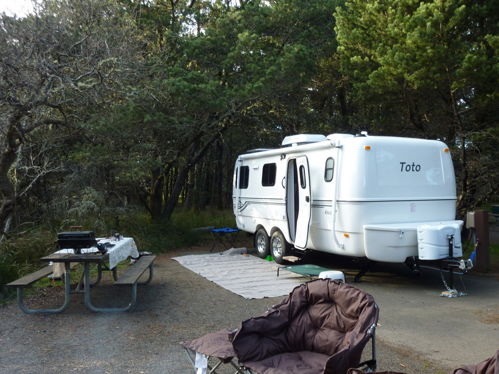 Cape Disappointment State Park, Campsite 34
