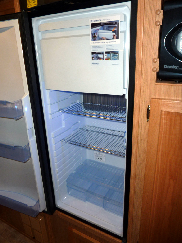 Refrigerator interior. Highly impressive.