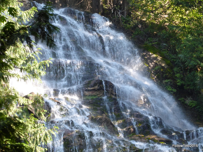Bridal Veil Falls, blurry.